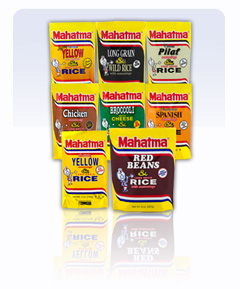 Mahatma Rice mixes
