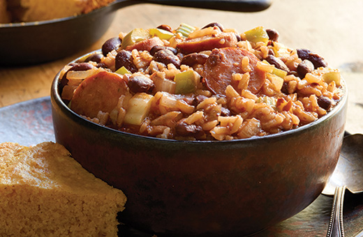 Valencian Rice And Red Beans Weeknight Red Beans And Rice
